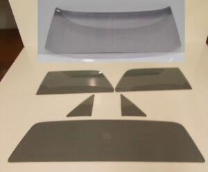 Glass Set El Camino Windshield Vent Door Back Grey 68 69 70 71 72 Pickup