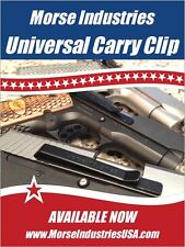START CARRYING YOUR GUN AGAIN! Forget your BULKY HOLSTER! Simple & IT WORKS!!!!