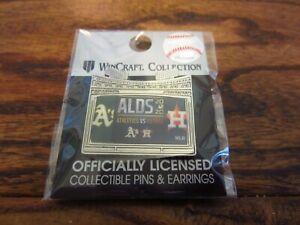 Houston Astros 2020 ALDS vs A's Commemorative Lapel Pin NEW WinCraft MLB