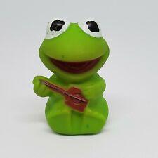 Vintage Muppet Babies Kermit the Frog Figure Avon 1985 Bubble Bath Bottle Topper