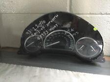 SAAB 9-3 Dashboard Clocks Instrument Dials Metallic Finish 03-2005 12759338 48k