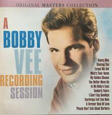 BOBBY VEE A Bobby Vee Recording Session CD. Brand New & Sealed