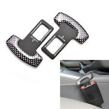 1 Pair Car Seat Belt Stop Alarm Eliminator Canceller Safety Insert Buckle Plug