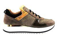 Alviero Martini 1a Classe Junior 0418 0218 Taupe Sneakers Scarpe Donna Bambini