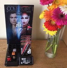 Star Wars CoverGirl Makeup Set With Store Display Lipstick Nail Polish Mascarra