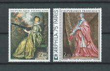 TABLEAUX d' ART - 1973 YT 1765 à 1766 - TIMBRES NEUFS** LUXE