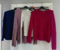❤️ LADIES size 8 KNITWEAR JUMPER JUMPERS NEW LOOK PAPAYA WINTER CLOTHES BUNDLE