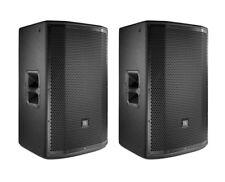 2x JBL PRX815W Active Loudspeaker Powered Monitor Speaker Pair