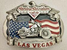 Harley Davidson Las Vegas Cafe FLSTC Soft Tail Custom 1999 LTD Ed. Belt Buckle