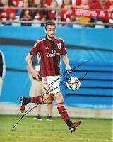 Foto Autografo Calcio Bryan Cristante Asta di Beneficenza Sport Coa Signed Milan