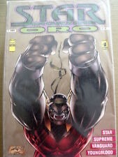 STAR MAGAZINE ORO n°8 1994 Vanguard Youngblood ed. Star Comics [SP17]
