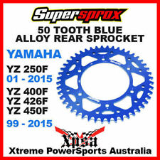Blue Motorcycle Back Sprockets