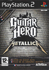 GUITAR HERO METALLICA for Playstation 2 PS2 - with box & manual - PAL