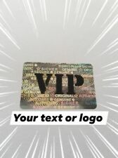 Personalized customized Hologram Labels Sticker Void If Removed Tamper Proof