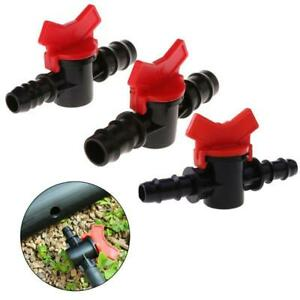 Fish Tank Double Tap ABS 12mm/16mm Water With Valve Adjustable Aquarium Supplies