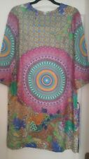 Vilagallo Spanish silk dress 40EU 12UK 8US