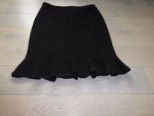 DKNY black wool blend skirt- Size 12
