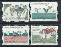 Liechtenstein N°888/91** (MNH) 1988 - J.O de Séoul