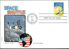 US Space FDC Cover 1981. Shuttle Columbia STS-1. Philswiss ##07