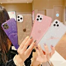 Bling Glitter Case For iPhone 11 Pro Max 7 8 XR X XS Clear Soft Phone Case Cover