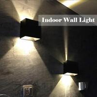 Dimmable LED Wall Lamp Sconce 110V 220V Aluminium Wall Light 6W Wall Lighting