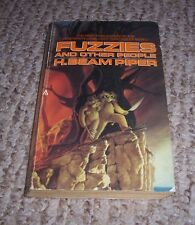 1984 Fuzzies and Other People H Beam Piper 1st Ace Scifi Science Fiction