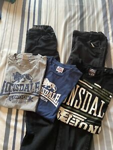 Jeans X2 And Lonsdale T-shirts X 3