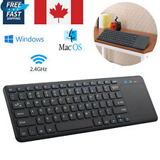 2.4G Wireless Keyboard with Multi Touchpad for IOS,Android Windows no Bluetooth
