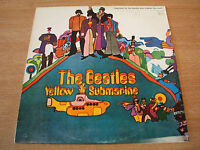 the beatles yellow submarine  1980's israel  pressing vinyl  lp