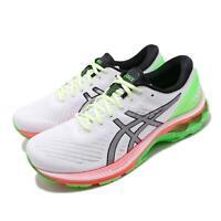 Asics Gel-Kayano 27 Lite-Show White Silver Green Men Running Shoes 1011A885-100