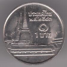 Thailandia 1 BAHT 2000 moneta di rame-nichel-Phra kaew Temple, BANGKOK-RAMA IX