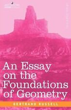 An Essay on the Foundations of Geometry (Hardback or Cased Book)