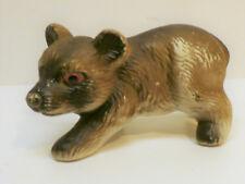 Vintage Chalkware Bear Figurine