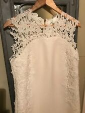 Ted Baker Cream Dress Size 12, above knee length, worn once