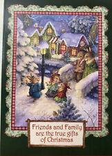 🎄 Leanin tree Friends and family are true gifts (susan wheeler)