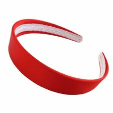 SATIN HEADBANDS WIDE SATIN ALICE BAND GIRLS 2.5cm HEAD BAND WIDE WOMENS BAND