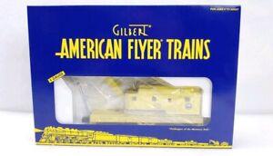 American Flyer Trains By Gilbert NTTM Work Train Wreck Crane Car 6-48254 S Gauge