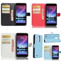 For LG G6 K8 V30 K4 K10 K8 2017 PU Leather Wallet Case Cover Phone Protector