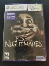 Rise of Nightmares Xbox 360 Kinect Game Complete Horror Scary Haunted Zombies 1