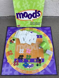 Moods~Adult Family Board Game~100% Complete~Hasbro 40028