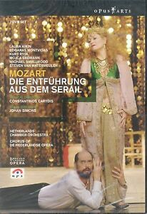 Wolfgang Mozart Die Entfuhrung Aus Dem Serail DVD NEW Netherlands Chamber Aikin