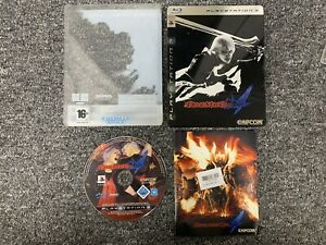 Devil May Cry 4 Steelbook Collectors Edition Playstation 3 Complete PS3 UK PAL