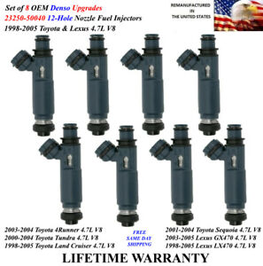 NEW FUEL INJECTOR SET FOR 2008-2015 TOYOTA LANDCRUISER SEQUOIA TUNDRA 4.6L 5.7L