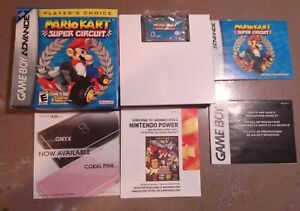 Mario Kart: Super Circuit (Game Boy Advance, 2001) Complete