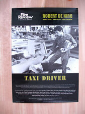 "TAXI DRIVER Film Review LARGE POSTER 34x24"" Martin Scorsese Robert De Niro WORLD"