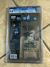 DOCTOR WHO #2 cgc 9.8 11th Doctor ONGOING IDW from 2011 with AMY & RORY