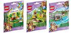 All 3 LEGO Friends Series 5 Sets - Macaw, Orangutan, Bear (41044, 41045, 41046)