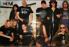 HIM Band Poster  2 psc of the 20th century New Rare!