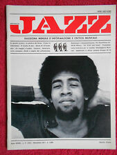Rivista MUSICA JAZZ 11/1977 Stanley Clarke Swinging Dance Band Cab Calloway Nocd