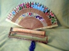 Fabulous  Printed  Chinese Folding Fan in Box